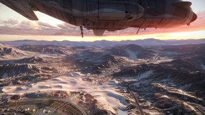 BF3 Armored Kill Rush AC-130 Gunship on Bandar Desert